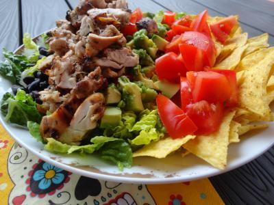 Mexikanischer Hähnchensalat